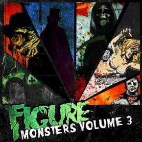 "Album Review: Figure – Monsters of Drumstep Vol. 3 + ""The Corpse Grinders"" FREE DL!!  [Dubstep//DESTRUCTION]"