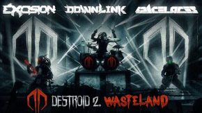 "Destroid (Excision, Downlink & KJ Sawka) feat. Space Laces – ""Wasteland"" [Dubstep//Grime]"