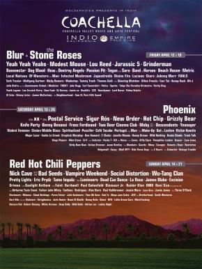 2013 Festival Preview: Coachella – Full LineupAnnouncement!!