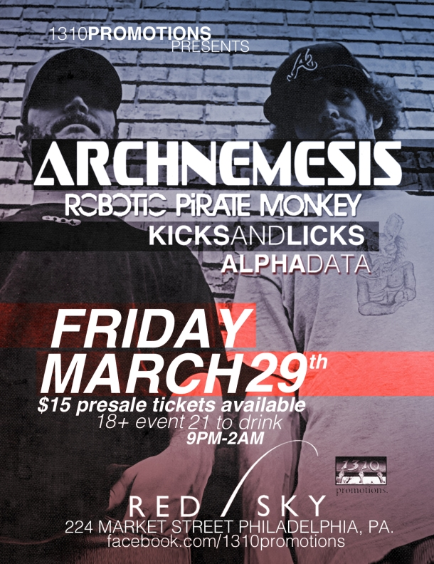 Archnemesis & RPM @ Red Sky