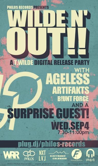 T.Wilde Digital Release Party2