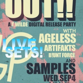 Philos Records Digital Release Party Live Sets from Samples, Ageless, T.Wilde & Artifakts (FREE DLs!!) [Glitch-Hop//Bass]