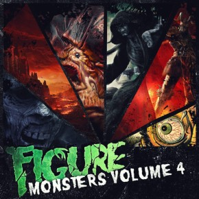 Album Review: Figure – Monsters of Drumstep Vol. 4 + 2 FREE DLs!! [Dubstep//Drumstep]