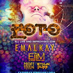 EOTO @ The Electric Factory w/ Emalkay, ELM & More [Sat. Feb. 01]