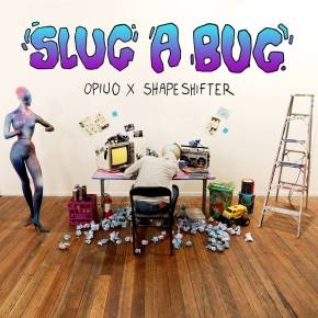 "Opiuo x Shapeshifter – Slug A Bug EP | FREE DL, Plus ""Slug A Bug"" Official Music Video"