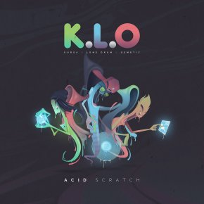 Infrasound 2016 Artist Spotlight #2 & Album Review: K.L.O. (Kursa, Lone Drum, & Osmetic) – Acid Scratch [Colony Productions]