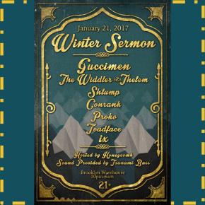 Event Preview: Winter Sermon 2017 | Guccimen Debut Performance & TsunamiBass