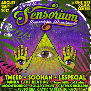Tweed Prepares for Inaugural SENSORiUM Festival In Philadelphia | Artist Interview [VIDEO]